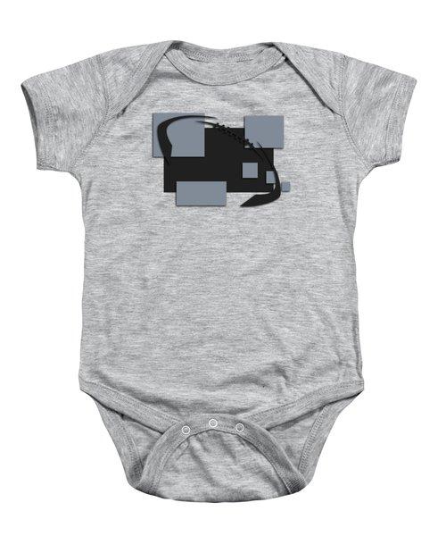 Oakland Raiders Abstract Shirt Baby Onesie