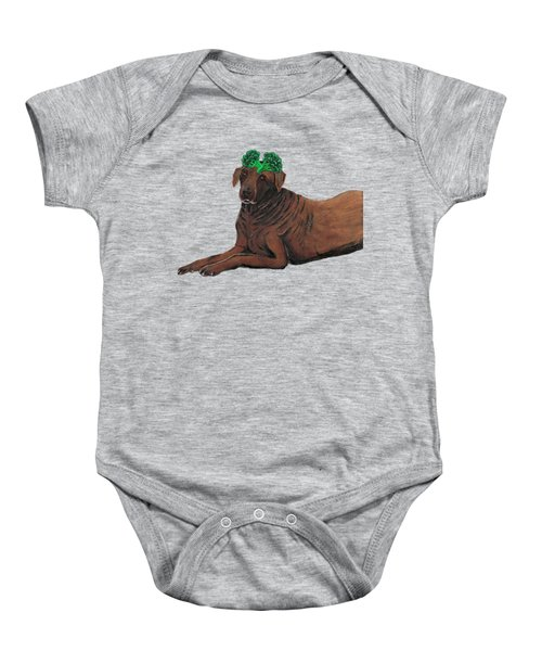 Obie Baby Onesie by Nick Nestle