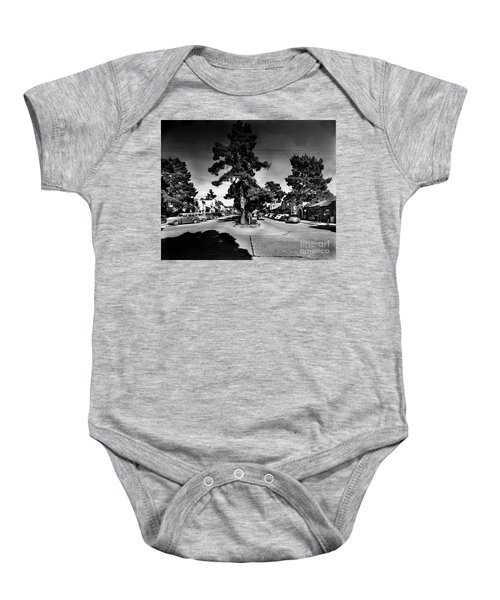 Ocean Avenue At Lincoln St - Carmel-by-the-sea, Ca Cirrca 1941 Baby Onesie