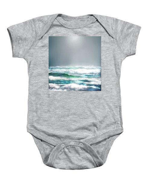 Ocean  Baby Onesie
