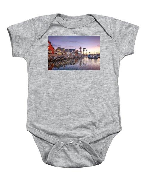 Oceanside Harbor Baby Onesie