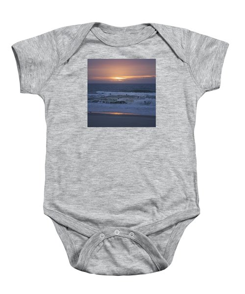Office View Baby Onesie