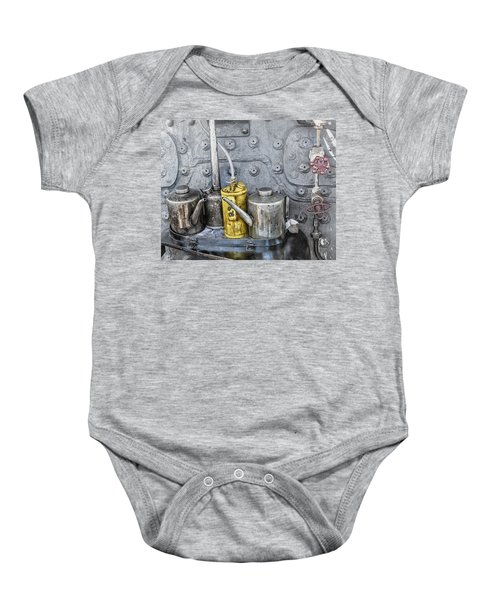 Oil Cans Baby Onesie