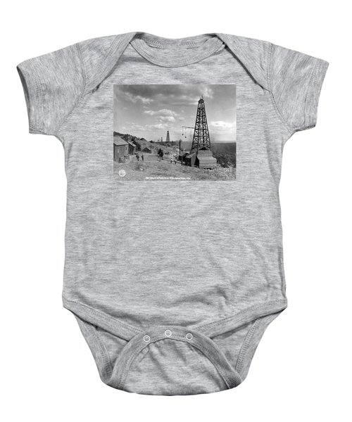 Oil Well, Wyoming, C1910 Baby Onesie
