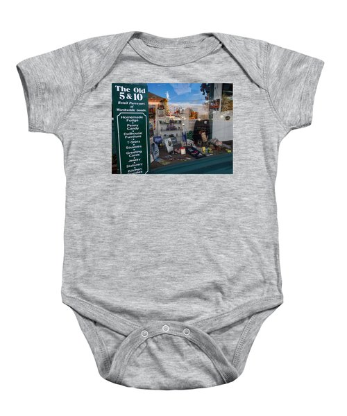 Old 5 And 10 North Conway Baby Onesie