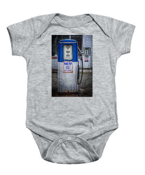 Old And Rusty  Pump  Baby Onesie