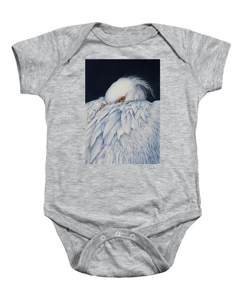 Old Blue Eyes Baby Onesie
