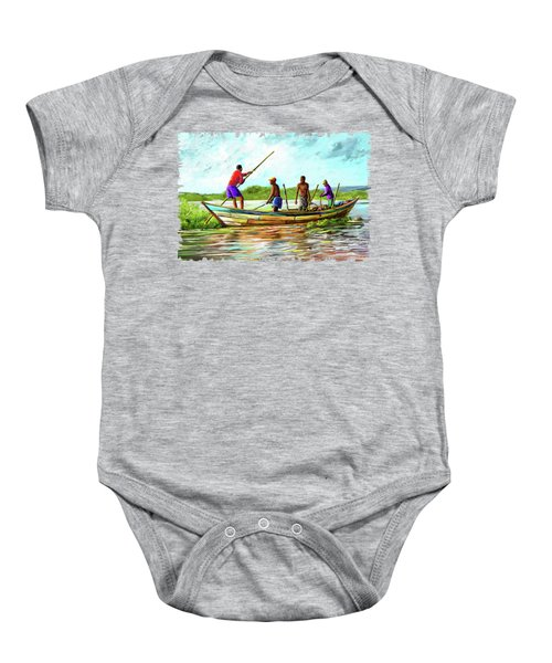 Old Boat Baby Onesie