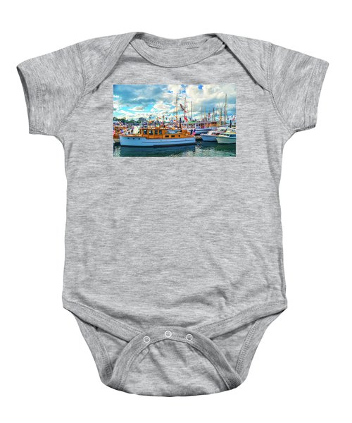 Old Boats Baby Onesie