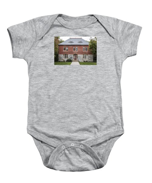 Old Botany Building Penn State  Baby Onesie by John McGraw