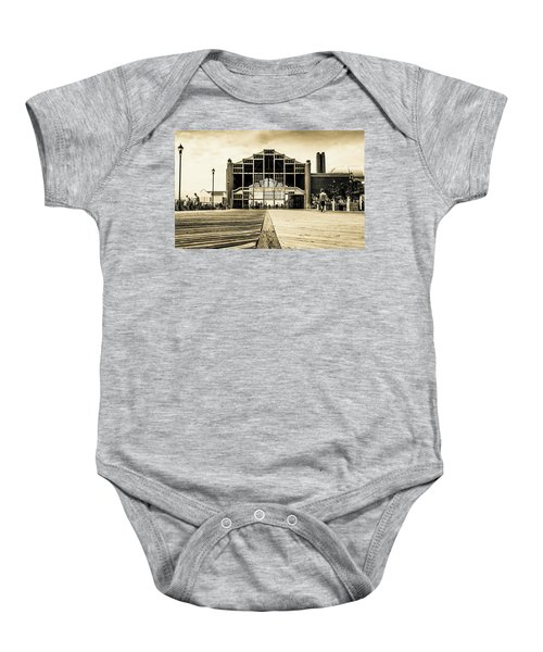 Old Casino Baby Onesie