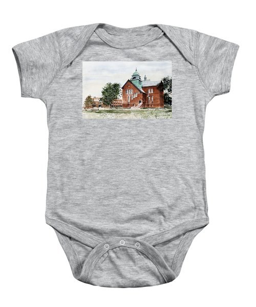 Oklahoma State University Old Central Baby Onesie