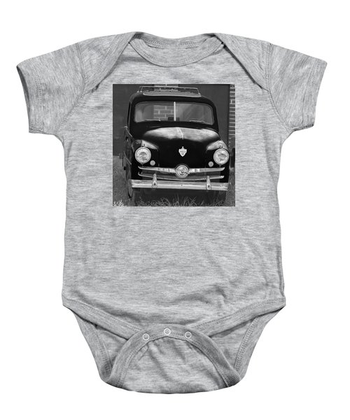 Old Crosley Motor Car Baby Onesie