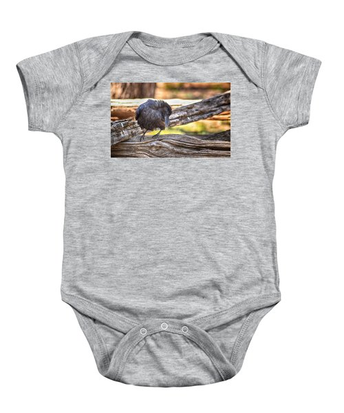 Old Crow Baby Onesie