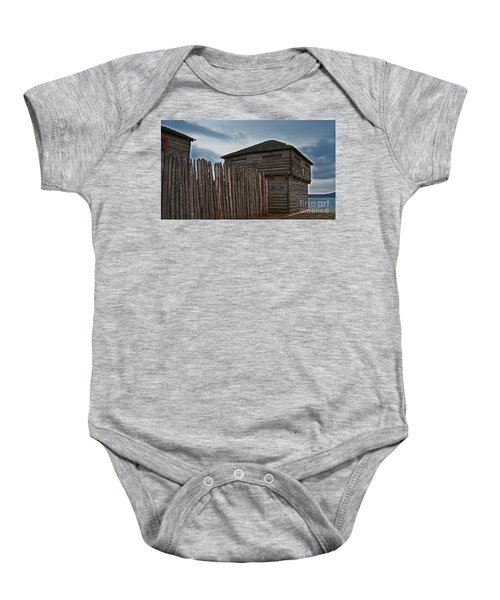 Old Fort Madison Baby Onesie