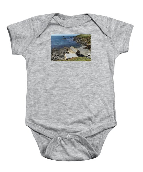 Old Lifeboat Station Baby Onesie