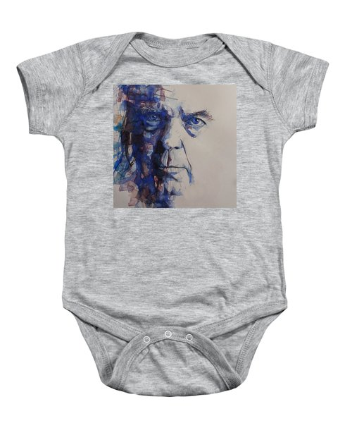Old Man - Neil Young  Baby Onesie