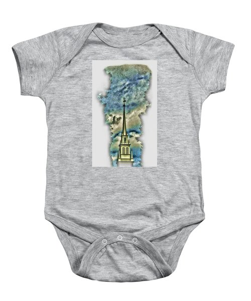 Old North Church Steeple Baby Onesie