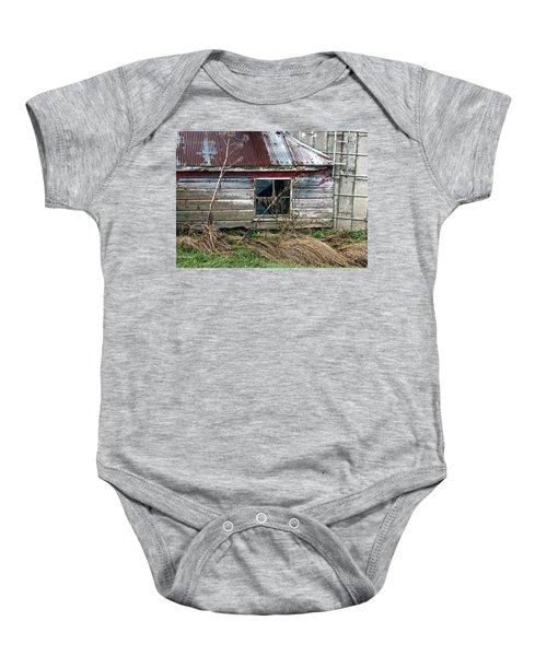 Old Pump House Baby Onesie