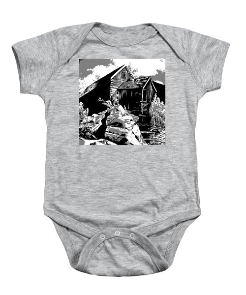 Old Rocky Mill Baby Onesie