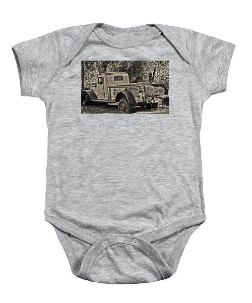 Old Truck Baby Onesie
