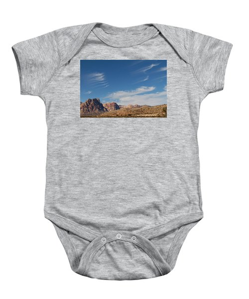 Old West Poles Baby Onesie