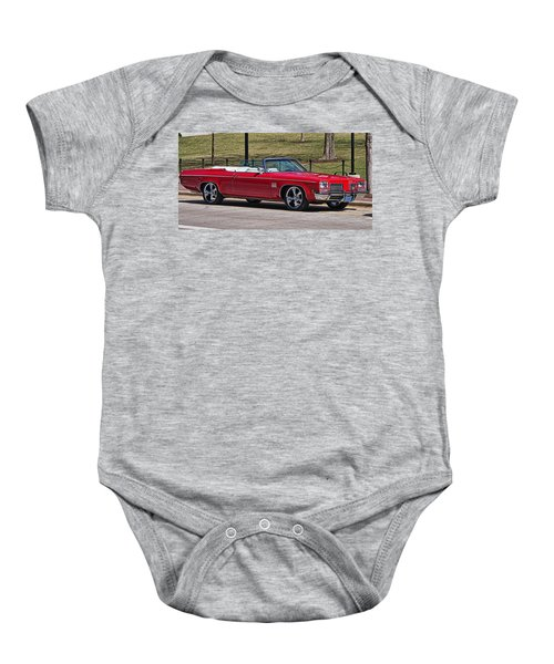 Oldsmobile Delta Royale 88 Red Convertible Baby Onesie