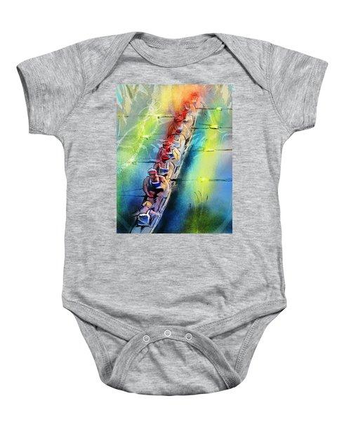 Olympics Rowing 02 Baby Onesie