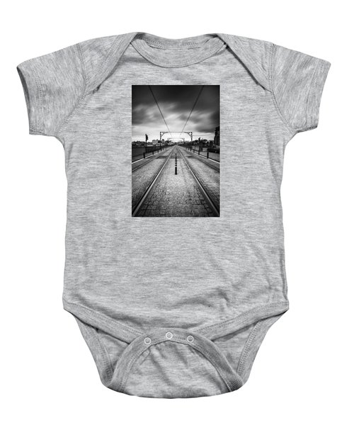 On A Gloomy Day Baby Onesie