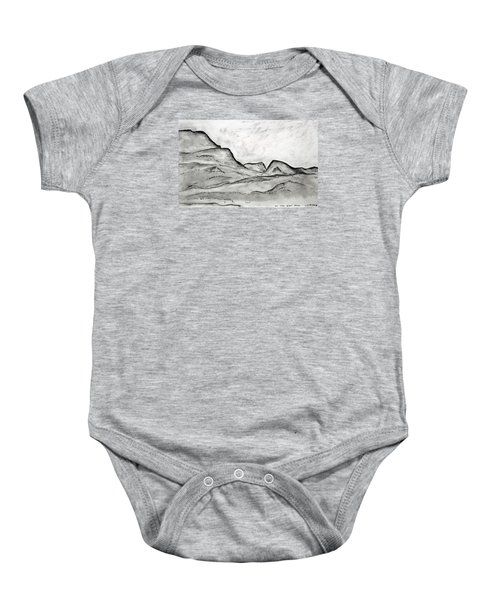 On The East Face Baby Onesie