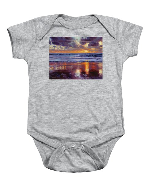 On The Horizon Baby Onesie