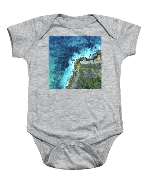 On The Rocks Baby Onesie