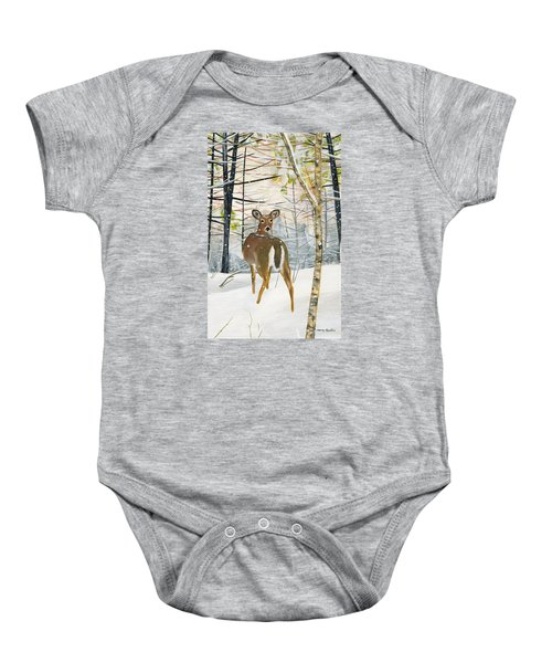 On The Trail Baby Onesie