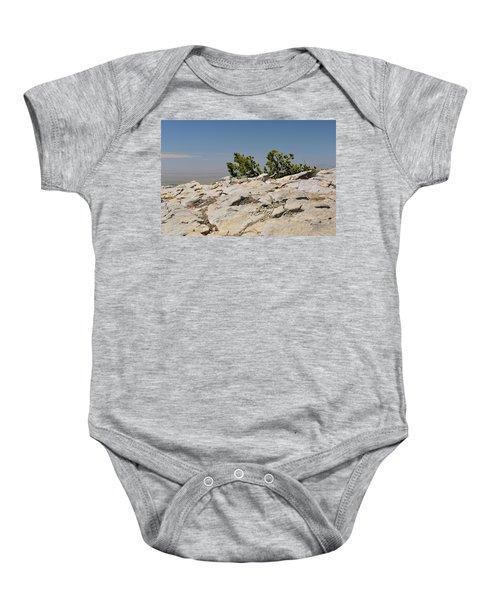 On Top Of Sandia Mountain Baby Onesie