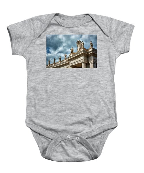 On Top Of The Tuscan Colonnades Baby Onesie