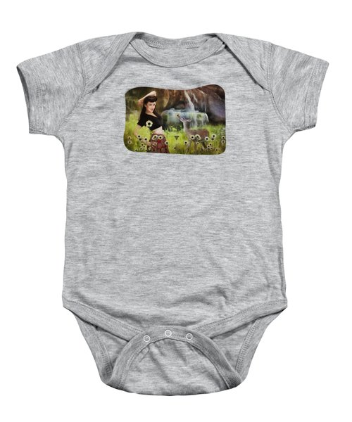 Once Upon A Meadow Baby Onesie