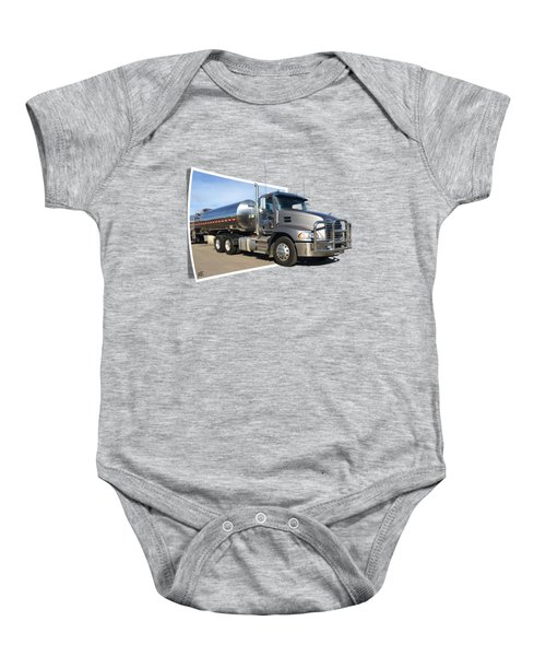 One Stack Mack Graphic Baby Onesie