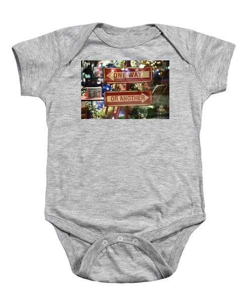One Way Or Another Baby Onesie