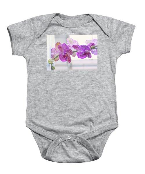 Orchid Spray Baby Onesie
