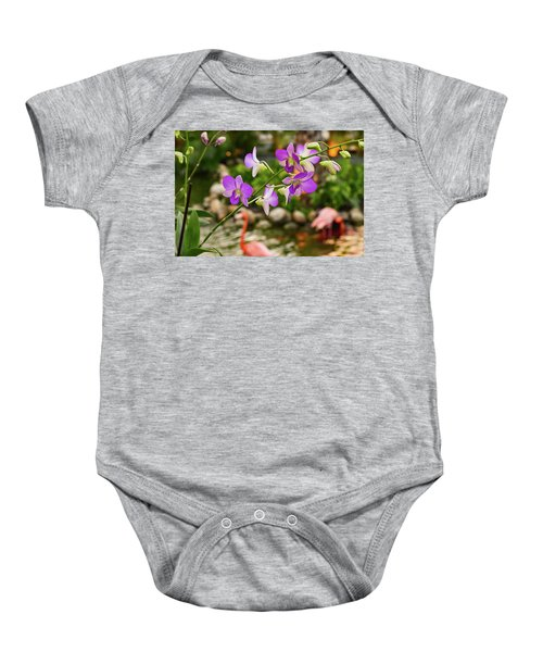 Orchids In Paradise Baby Onesie