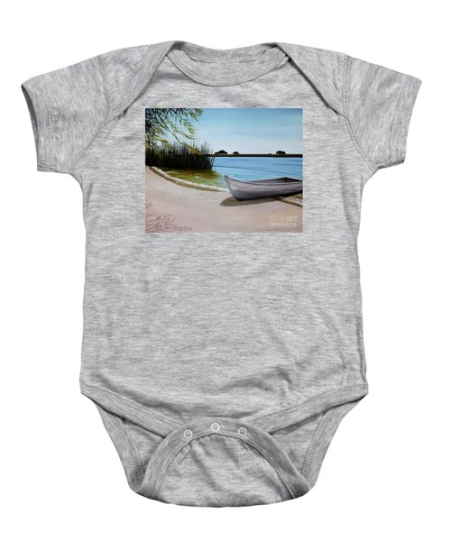 Our Beach Baby Onesie
