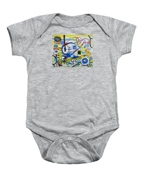 Our World Baby Onesie by Jose Rojas