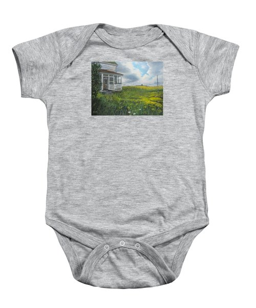 Out Back Baby Onesie