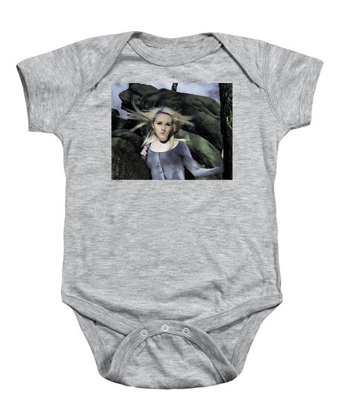 Out Of The Shadows Baby Onesie