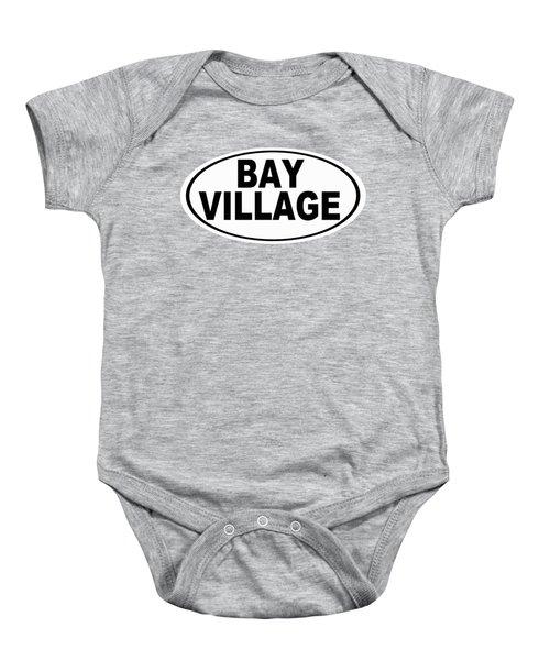 Oval Bay Village Ohio Home Pride Baby Onesie