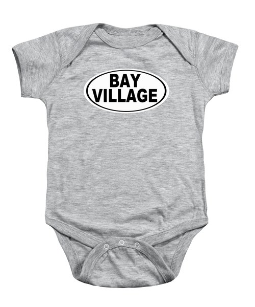 Oval Bay Village Ohio Home Pride Baby Onesie