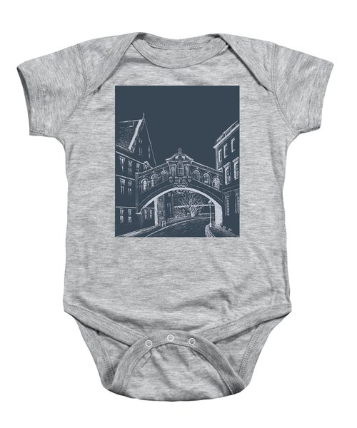 Oxford At Night Baby Onesie