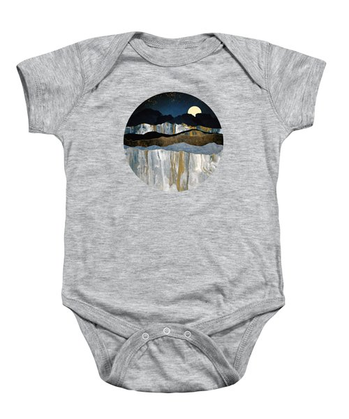 Painted Mountains Baby Onesie