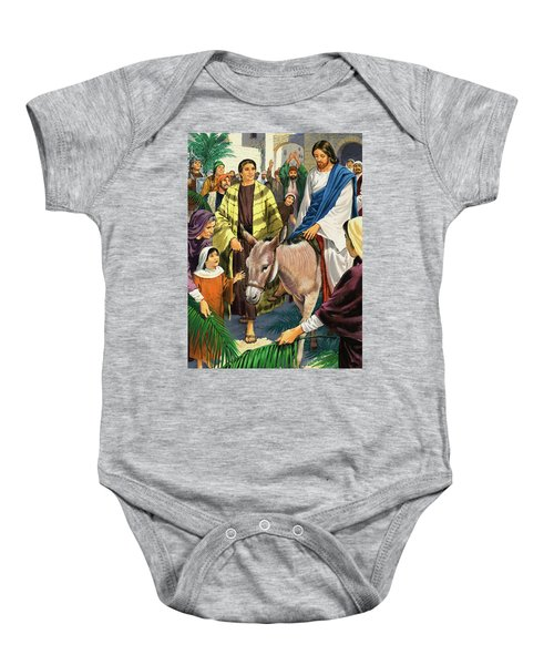 Palm Sunday Baby Onesie by Clive Uptton