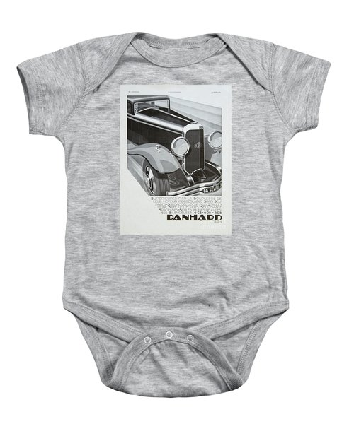 Panhard #8701 Baby Onesie